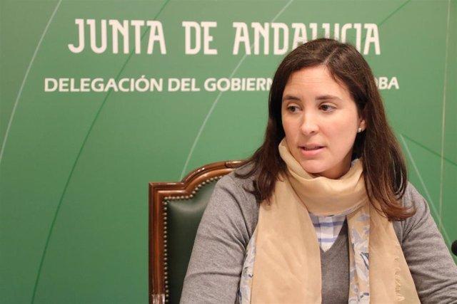 La delegada de Fomento, Infraestructuras, Ordenación del Territorio, Cultura y Patrimonio Histórico de la Junta, Cristina Casanueva