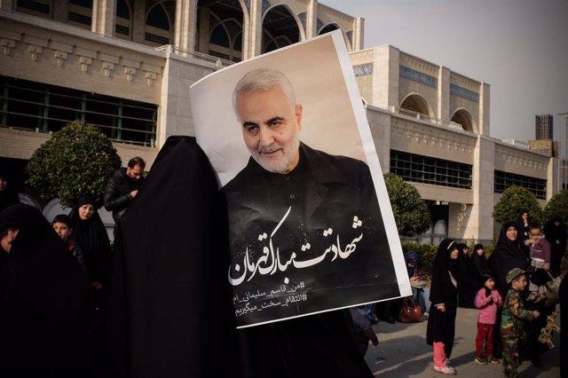 Irán.- Una relatora de la ONU dice que la muerte de Soleimani en un bombardeo de