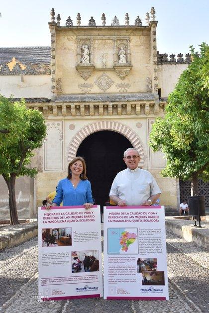El Cabildo Catedral de Córdoba apoya un proyecto de Manos Unidas para la capacitación integral de mujeres en Ecuador