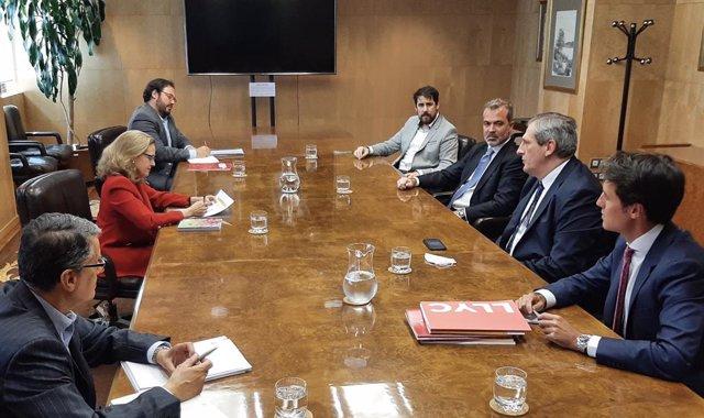 AEVI se reúne con Nadia Calviño y pide al Gobierno que extienda al videojuego la