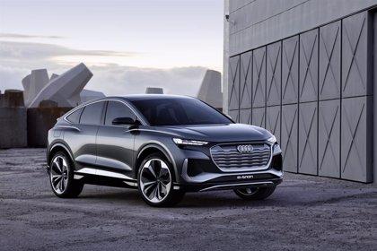 Audi lanzará en 2021 el nuevo coupé Q4 e-tron, con una autonomía superior a los 500 kilómetros