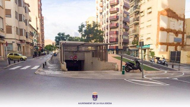 Avenida de Juan Carlos I de la Vila Joiosa, que pasará a llamarse avenida del Doctor Pere Esquerdo