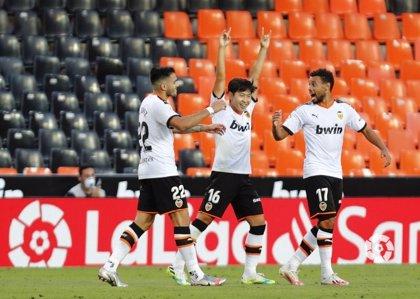 Kang In Lee mantiene la fe del Valencia por Europa