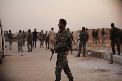 Mueren cerca de una decena de soldados en un ataque de Estado Islámico en el centro de Siria