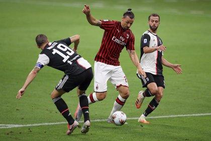El Milan remonta a la Juve en seis minutos y deja todo igual tras la derrota del Lazio