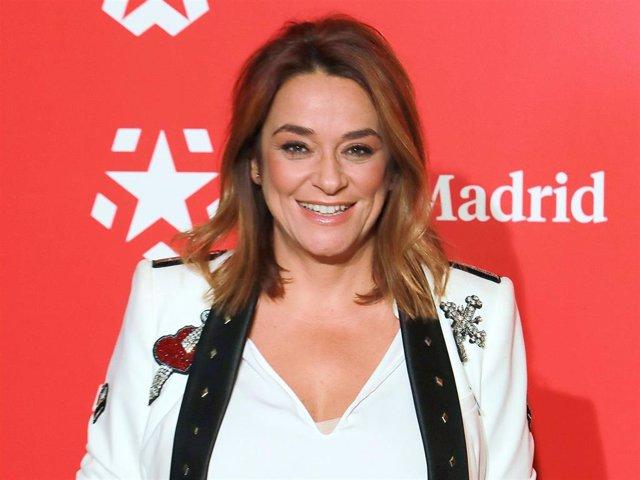 La presentadora Toñi Moreno, en una imagen de archivo