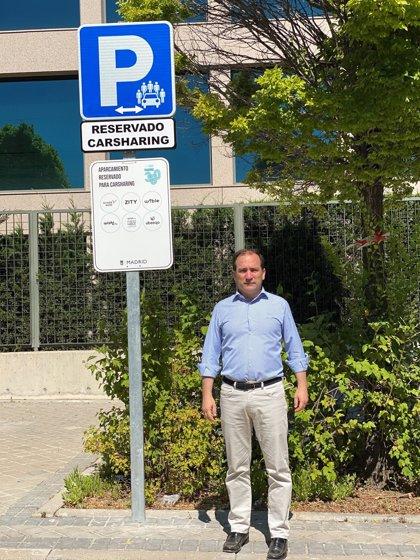 Madrid suma otros dos nuevos aparcamientos reservados para carsharing en Las Tablas y Sanchinarro