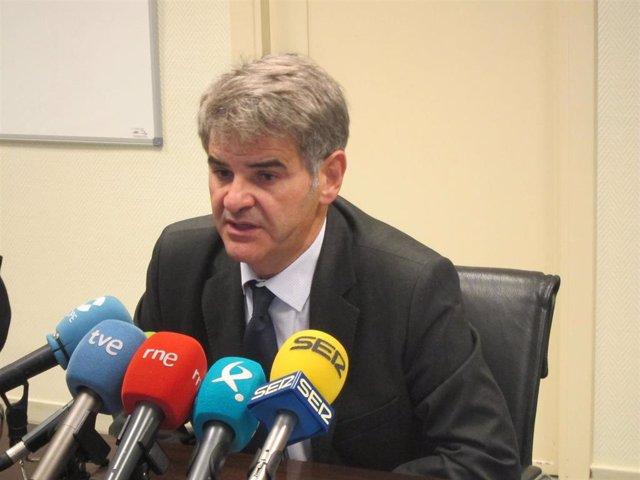 Ceciliano Franco, gerente del SES, en una imagen de archivo.