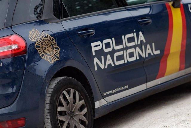 Cotxe de la Policia nacional en una foto d'arxiu.