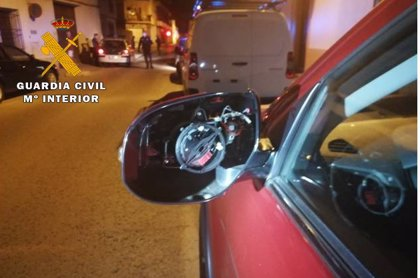 Detenido por daños por valor de 2.000 euros en 6 vehículos estacionados en Villarrobledo