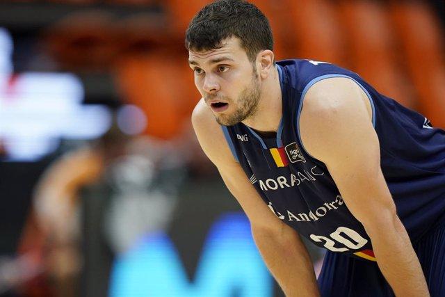 Baloncesto.- Dejan Todorovic deja Andorra y ficha por el Iberostar Tenerife