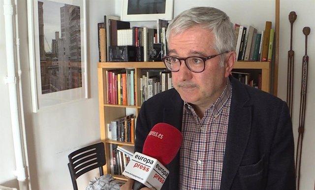 El presidente de la Sección Española de Reporteros Sin Fronteras, Alfonso Armada.