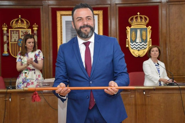 Alcalde de Azuqueca de Henares, José Luis Blanco.
