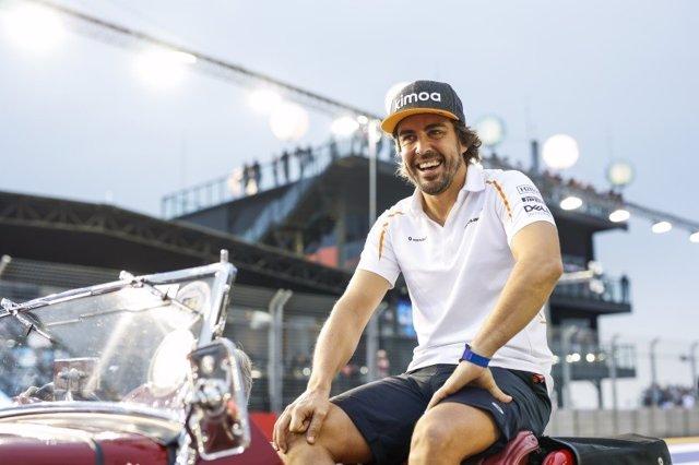 AV.- Fórmula 1.- Fernando Alonso vuelve a la Fórmula 1 con Renault