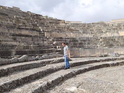 El proyecto de intervención en Segóbriga aumentará el graderío sur del anfiteatro