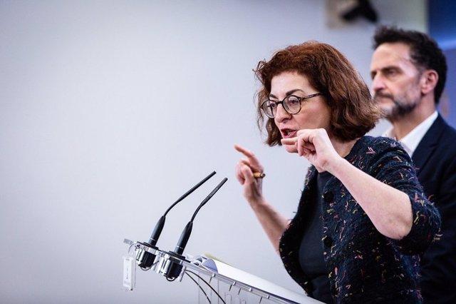 La eurodiputada de Ciudadanos y vicepresidenta de la Comisión de Libertades Civiles del Parlamento Europeo, Maite Pagazaurtundua.