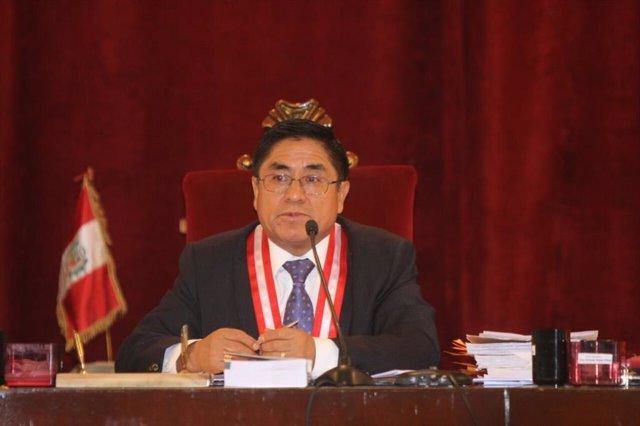 El ex juez peruano César Hinostroza