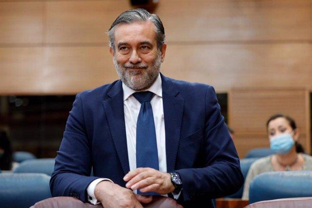 El consejero de Interior de la Comunidad de Madrid, Enrique López