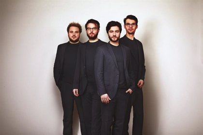 El joven cuarteto Goldmund Quartett debutará en el Palau de la Música Catalana el lunes