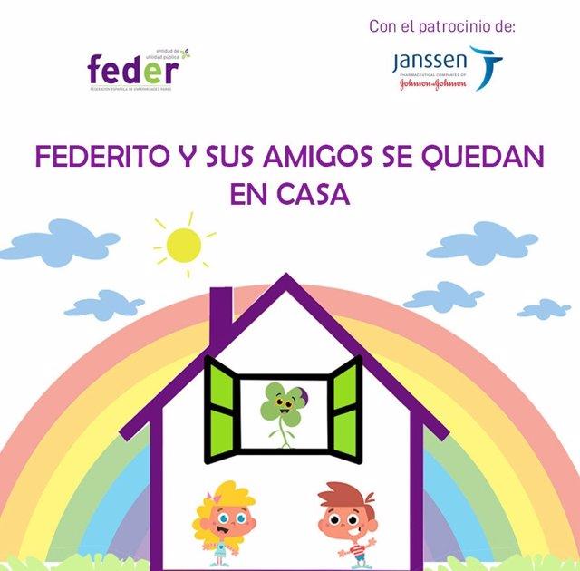 FEDER, con la colaboración de Janssen, lanza un nuevo proyecto educativo para fomentar el aprendizaje desde el hogar