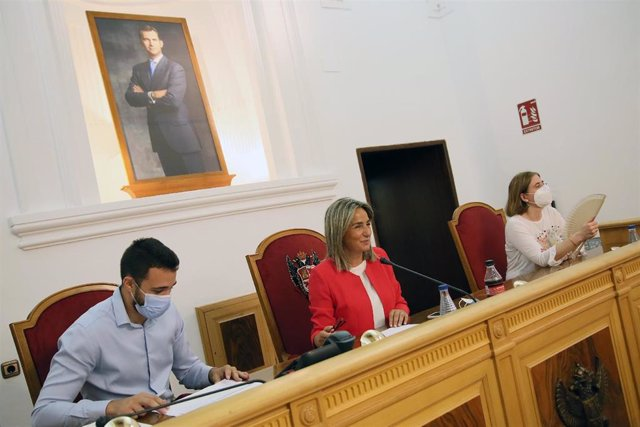 La alcaldesa de Toledo, Milagros Tolón, en el Debate del Estado del Municipio