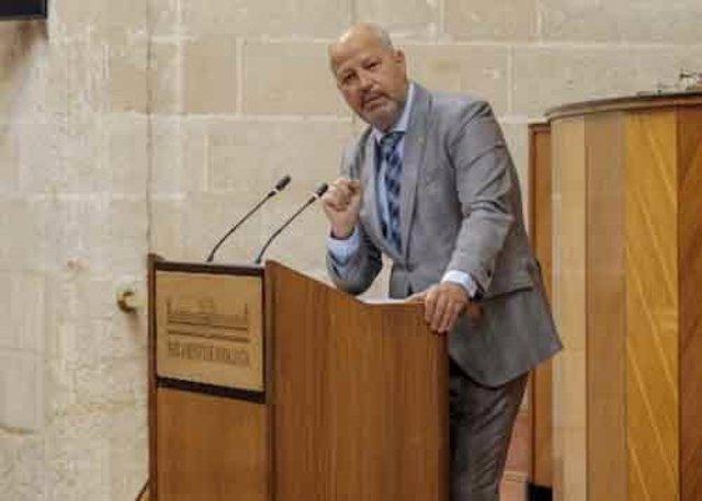 El consejero de Educación, Javier Imbroda, en una imagen de archivo