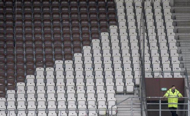 Gradas vacías en la Bundesliga