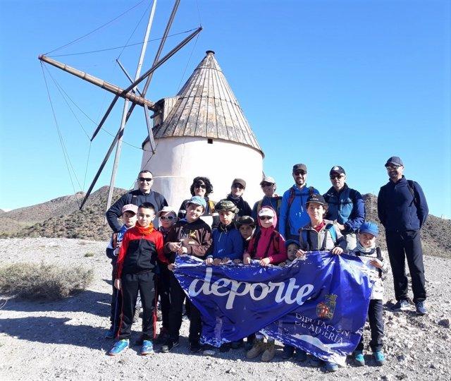 Programa 'Deporte en familia' de la Diputación de Almería
