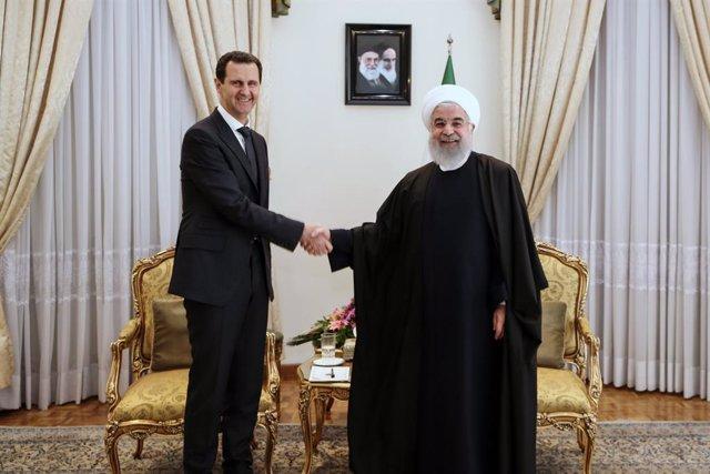 Siria.- Irán anuncia que trabajará para fortalecer los sistemas de defensa aérea