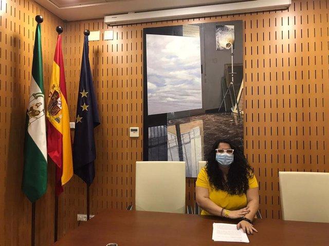 La asesora de programa del IAM, María José de la Torre