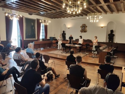 Ayuntamiento de Ordizia se reúne con el sector de hostelería para abordar las nuevas medidas por el brote de covid-19