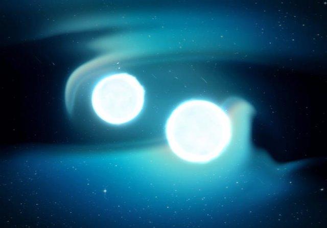 Estrellas de neutrones en trance de fusión