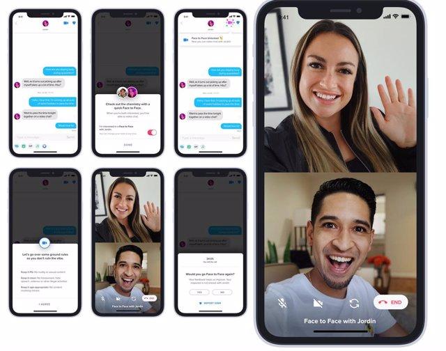 Tinder introducirá los chats de vídeo en España en verano