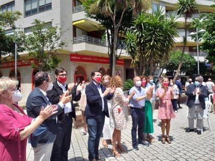 """Gonzalo Caballero (PSdeG) llama a movilizarse en el """"sprint final"""" y """"no dar ninguna batalla por perdida"""""""