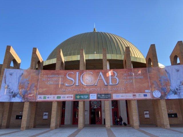 El Palacio de Exposiciones y Congresos de Sevilla (Fibes) alberga la edición de 2019 del Salón Internacional del Caballo (Sicab).