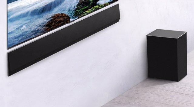 LG presenta la barra de sonido GX, con 3,25 centímetros de profundidad