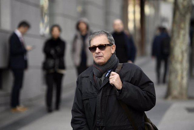 Jordi Pujol Ferrusola, hijo primogénito del expresidente catalán Jordi Pujol, a su salida de la Audiencia Nacional