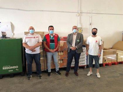 Mercadona entrega 6.000 kilos de alimentos a entidades como Cruz Roja y Fundación Ceres Tomelloso