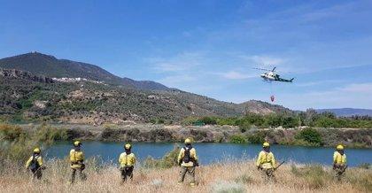 Declarado un incendio forestal en Quesada (Jaén) que afecta al Parque Natural de Cazorla