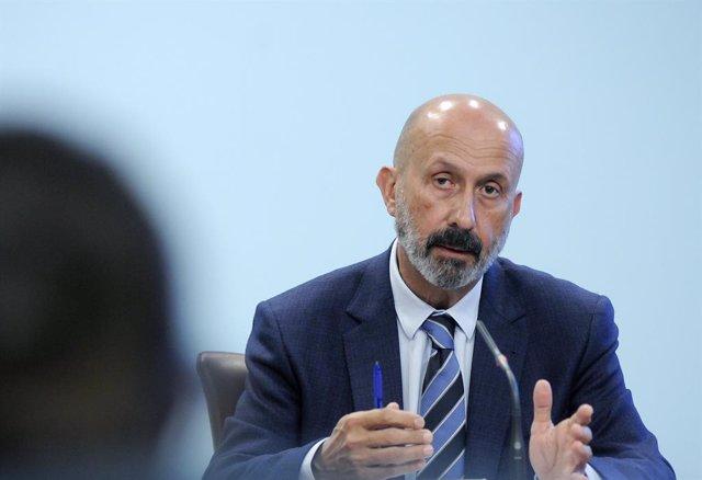 El ministre de Salut d'Andorra, Joan Martínez Benazet