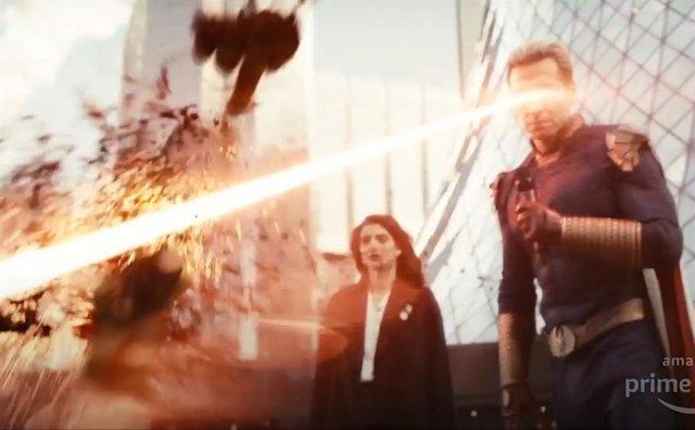 Imagen del táiler de la segunda temporada de The Boys