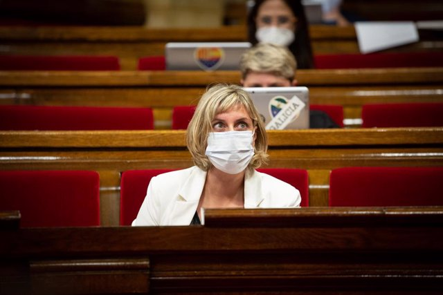 La consellera de Sanitat, Alba Vergés (Arxiu)
