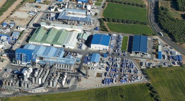 La planta d'Emulsions Polimèriques a Vila-seca (Tarragona)