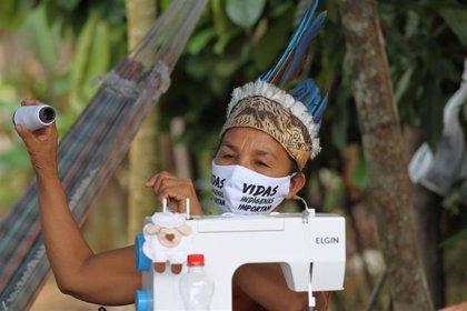 AMP.- Coronavirus.-Bolsonaro promulga una ley de protección a los pueblos indígenas de Brasil pero con importantes vetos