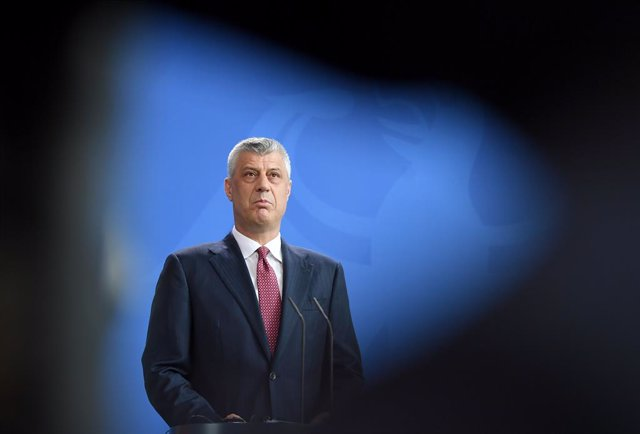 Kosovo President Thaci indicted for war crimes