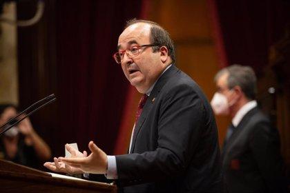 """Iceta advierte de que las posiciones """"maximalistas"""" de Torra dificultan la mesa de diálogo"""