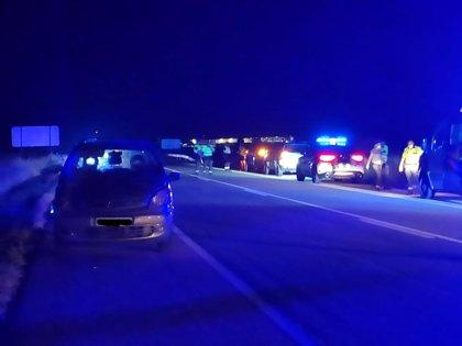 VIDEO: El conductor del turismo que ha atropellado a tres mujeres en Pedrosillo da negativo en alcohol y drogas