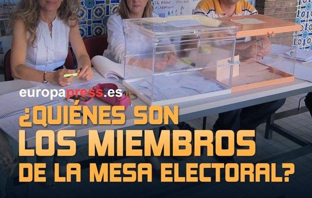 ¿Quiénes Son Los Miembros De La Mesa Electoral?