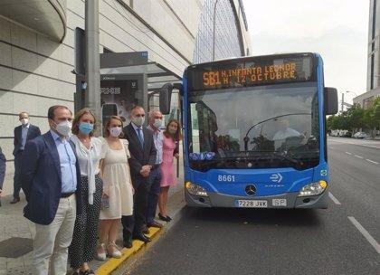 La EMT lanza su primer autobús a demanda, reserva anticipada y pago desde una app