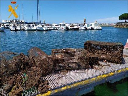 Desmantelado otro vivero clandestino con cachones, nécoras y salmonetes